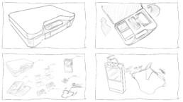 3D-Animation STIM PRO X9+ Storyboard Setszene