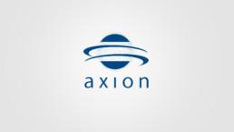 3D-Animation STIM PRO X9+ Outro axion Logo mit Partikeln